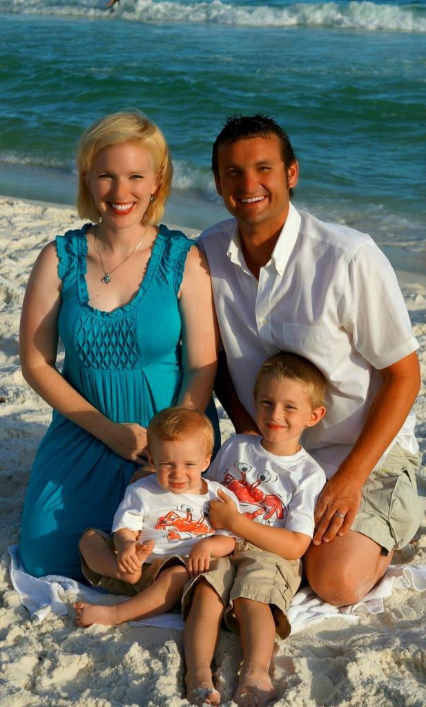 (Matthew & Allison with their children, William [right] & John Scott [left])